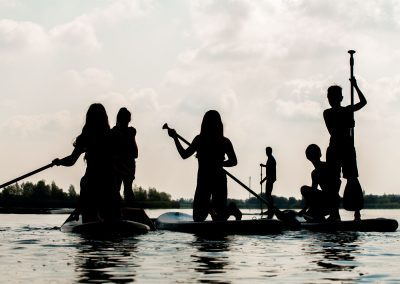 Abenteuer-Geburtstag: Stand Up Paddling-Party