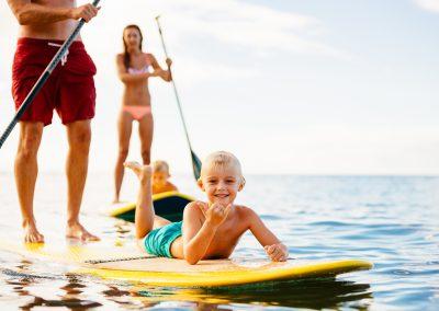 Familienfreundlicher Kurs »SUP Family«