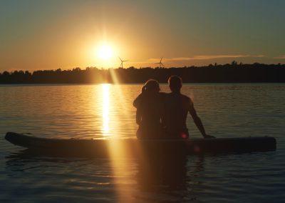 Sunset Paddling Tour