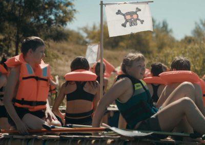 Abenteuer-Geburtstag: Floßbau + SUP