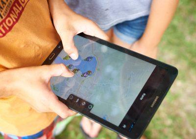 Abenteuergeburtstag: Tablet-Tour