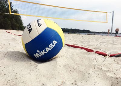 Beachvolleyball am Cospudener See