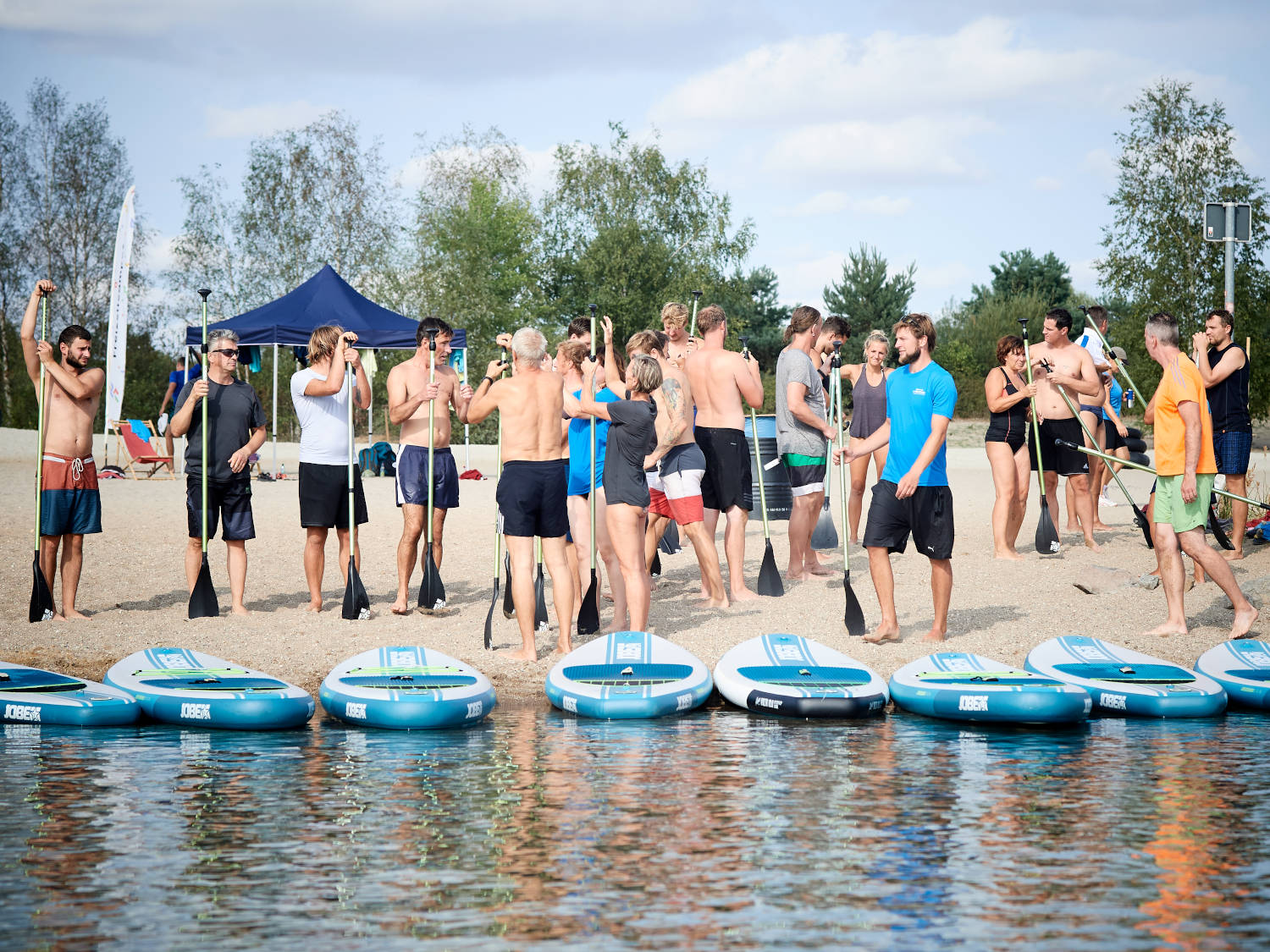 Teamevent: SUP-Kurs